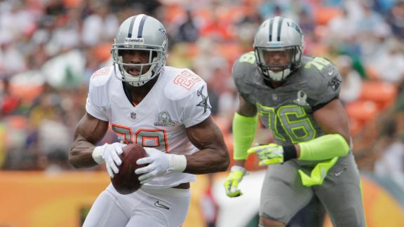 Tolbert's conversion gives Rice Pro Bowl win