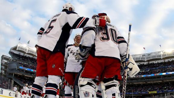 Brodeur: Ice at Yankee Stadium was 'worst'