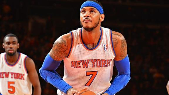 Melo's trainer leaves Knicks, cites differences