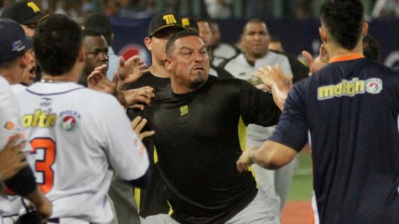 Zambrano sorry for starting Venezuela brawl