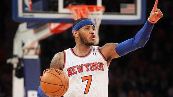 La La: Melo 'definitely' will stay with Knicks