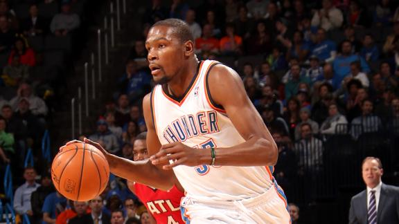 Durant scores 41, sinks Hawks with late jumper