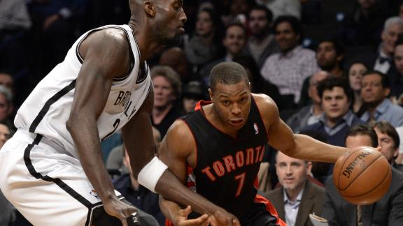 Raptors cool off Nets on Patterson's late basket
