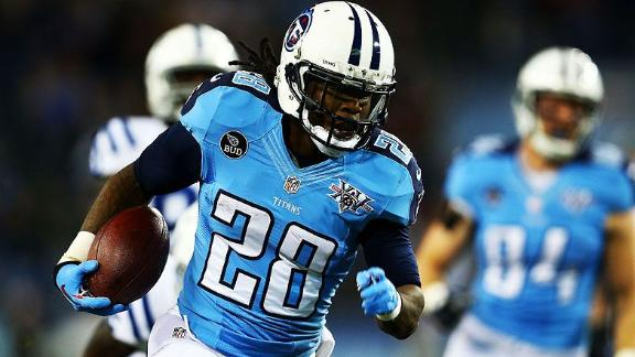 Titans RB Johnson undergoes knee surgery