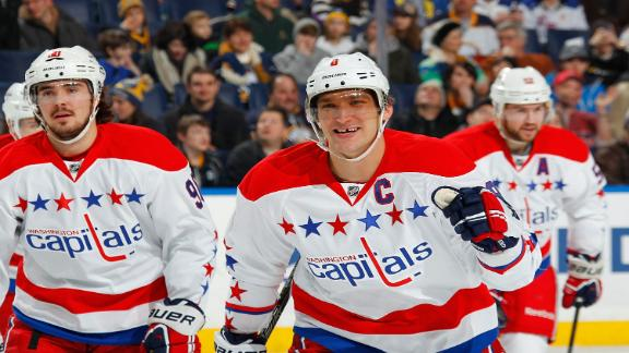 Video - Ovechkin, Capitals Edge Sabres