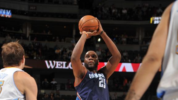 Video - Jefferson Carries Bobcats Past Nuggets