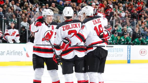 Video - Elias, Devils Top Stars In OT