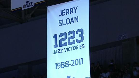 Jazz, Obama salute longtime coach Sloan