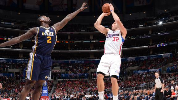 Crawford, Griffin power Clippers over Jazz