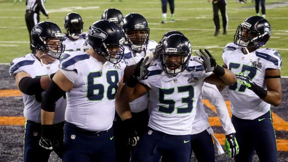 Seahawks LB Smith earns SB MVP honors