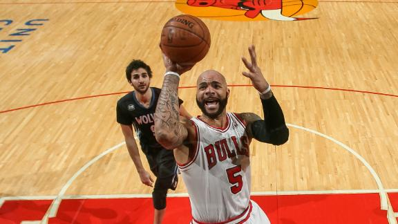 Bulls' Boozer miffed at lack of clutch minutes