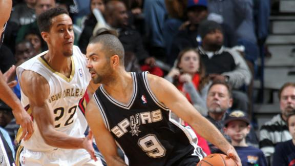 Parker's 32 help fuel Spurs' rally by Pelicans