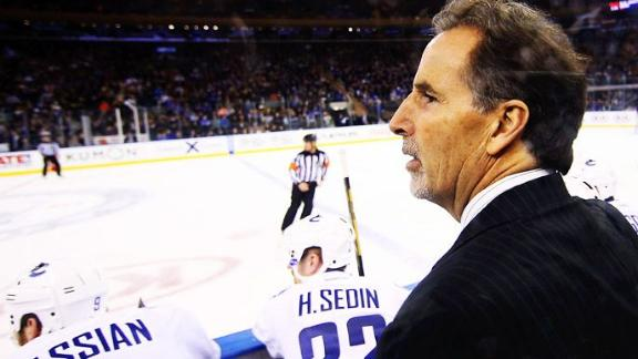 Contrite Tortorella returns