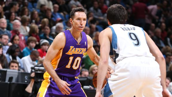 Love OK after injury scare; Lakers fall again