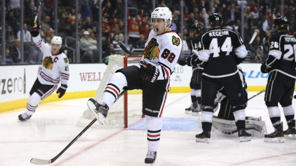 Video - Kane, Blackhawks Top Kings