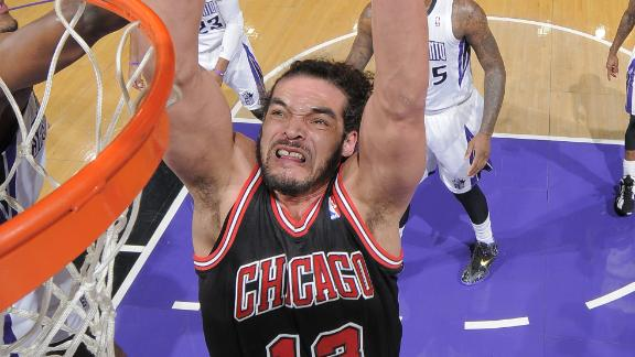 Bulls' Noah docked $15K for on-court tirade