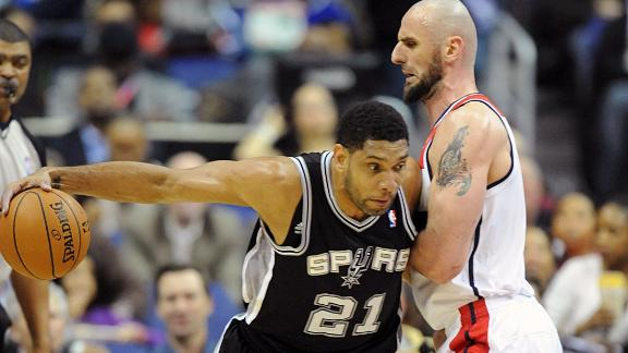 Ailing Spurs without Parker, Duncan vs. Nets