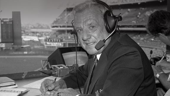 Hall of Fame slugger, broadcaster Kiner dies