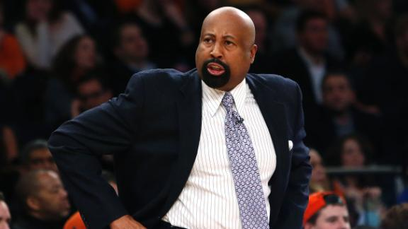 Knicks' Woodson: Season 'kind of a disaster'