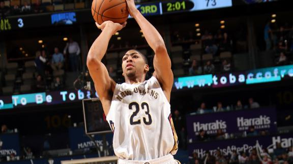 Pelicans' Davis replaces Kobe for West All-Stars