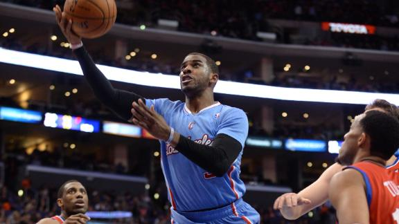 Paul returns in Clippers' rout of 76ers