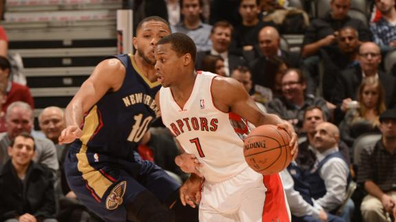 Video - Raptors Turn Away Pelicans