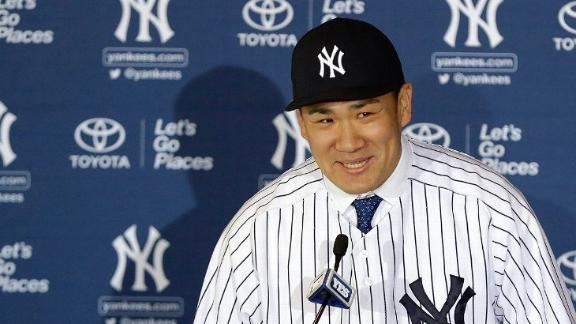 Tanaka draws big crowd at Yankees unveiling