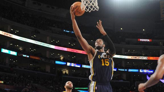 Jazz deal Lakers record-tying loss at home