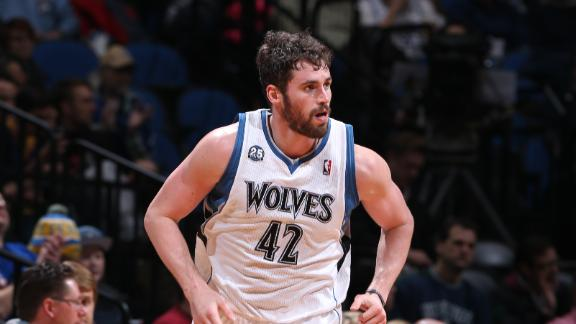 Love-led Timberwolves overpower Nuggets