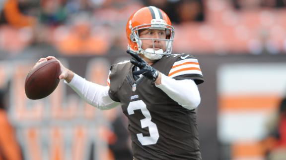 Source: QB Weeden wants to leave Browns