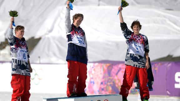 2014 Sochi Olympics -- U.S. men sweep podium in slopestyle ...