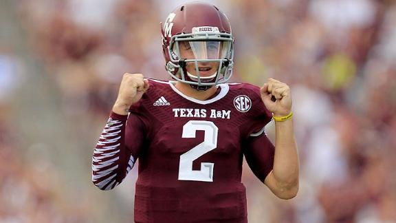 Manziel: Wilson paving the way for short QBs
