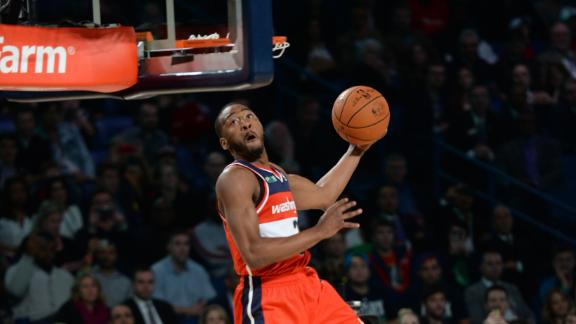 Wizards' Wall, East sweep slam dunk honors