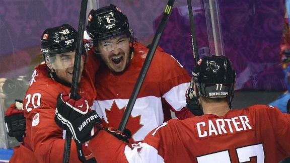 Doughty's OT goal lifts Canada past Finland