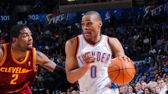 Durant says Westbrook will return Thursday