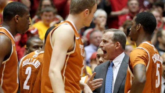 Texas Struggles from Field in Loss