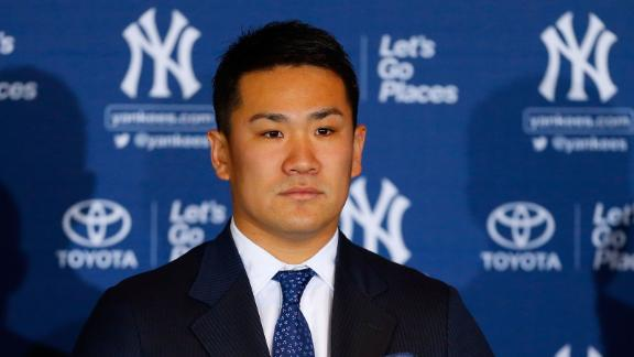 Darvish, with chuckle: Tanaka deal too much
