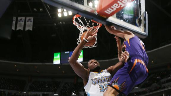 Green, Suns outlast skidding Nuggets in OT
