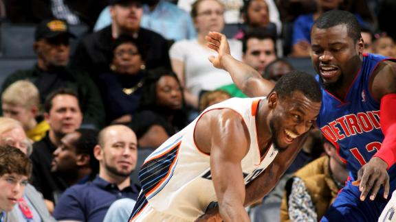 Video - Kemba, Bobcats Topple Pistons
