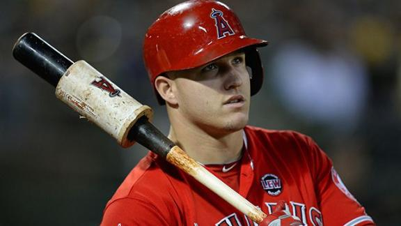 Trout focused on season, not on mega deal