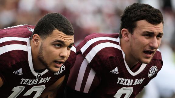 Favre sees young version of self in Manziel