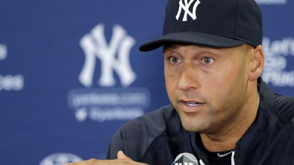 Jeter: 'Time is right' to retire, looks to future