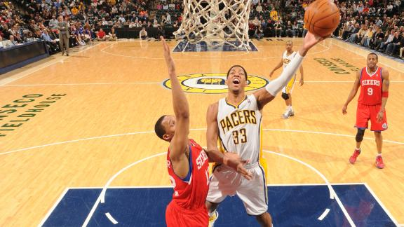 Indiana Pacers trade Danny Granger to Philadelphia 76ers for Ev…