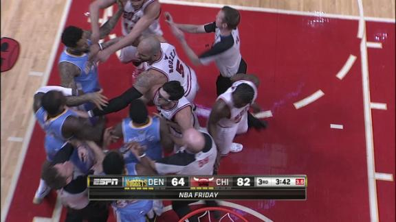 Video - Hard Foul leads to Scuffle