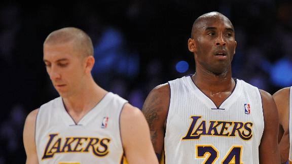 Video - Kobe Not Happy With Blake Trade