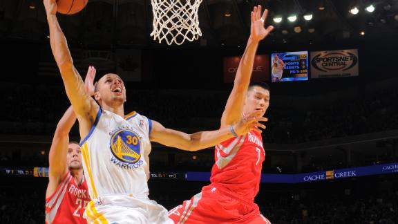 Video - Warriors Fight Off Rockets In OT