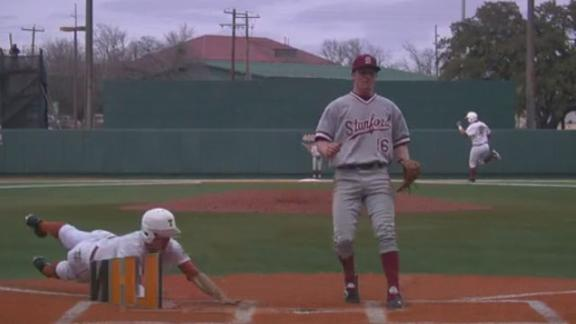 Texas Goes Up 2-0 in Series Against Stanford