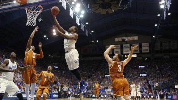 Kansas Exacts Revenge on Texas in Rout