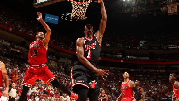 No LeBron? No problem as Heat roll by Bulls