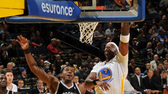 Video - O'Neal Powers Warriors Past Nets